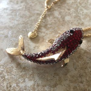 [NWOT] Betsey Johnson Shark Necklace